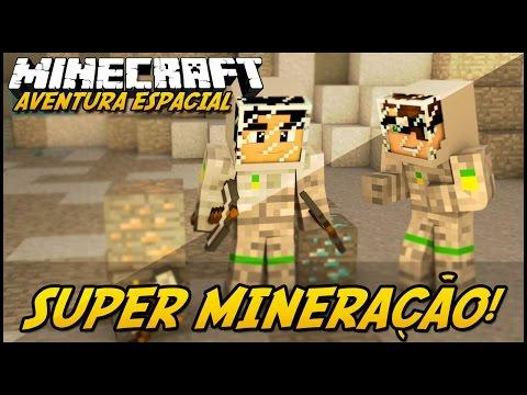Minecraft: AVENTURA ESPACIAL SUPER MINERAÇÃO #4