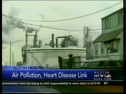 Air pollution, heart disease link