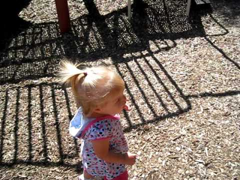 Kate At The Playground video