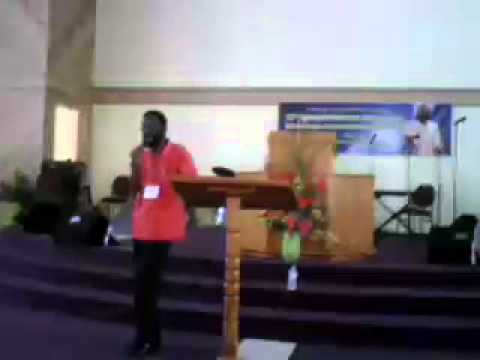 Pastor Seaton Wilson at CCM Conference , St.Thomas Virgin Islands