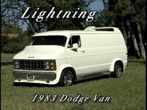 Lightning, Custom 1983 Dodge Van