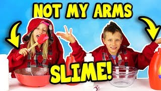 NOT MY ARMS SLIME CHALLENGE!!!!