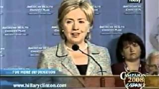 Hillary Clinton In 2007: If You Like Your Plan, You Can Keep Your Plan