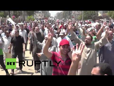 Egypt: At least two dead in Pro-Morsi clashes *GRAPHIC*