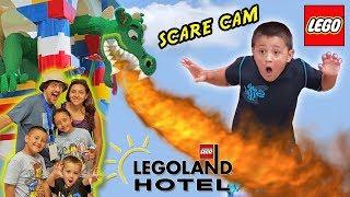 LEGOLAND HOTEL Grand Opening in Florida + DRAGON SCARE CAM! Best Day Ever w  Amusement Park Fun