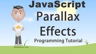 Parallax Scroll Effect Tutorial JavaScript Animation Programming