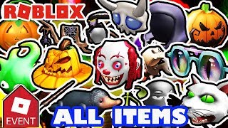 [EVENT] HOW TO GET ALL ITEMS | Roblox 2018 Halloween Event - Sinister Swamp