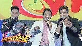 Billy, Vhong ang Bayani perform 'Funny One' theme song