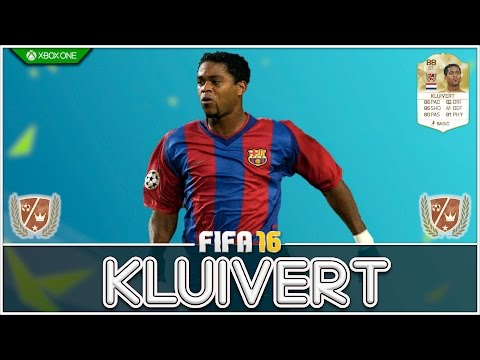 FIFA 16 | Legend Review | Patrick Kluivert !