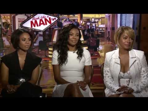 Regina Hall, Gabrielle Union and LaLa Anthony Interview for Think Like A Man Too