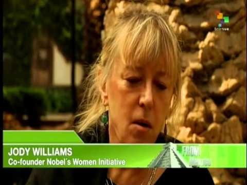 Interviews from Mexico - Nobel Peace Prize Winner Jody Williams