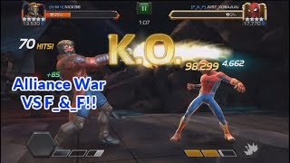 4th Alliance War Of Seaon 2 Versus F_&_F | Marvel Contest Of Champions