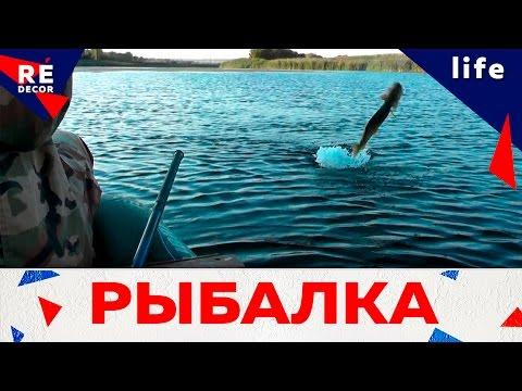 ловля на воблер с лодки видео
