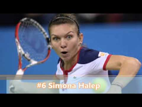 Top 10 Female Tennis Players 2016