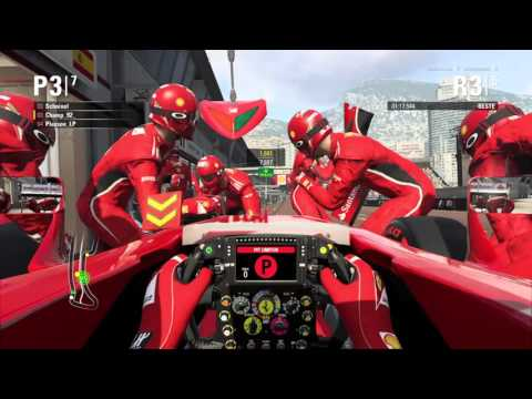 [F1-FTP Cups] - | Race #01 / Monaco | Cup Of Nations 2016 |