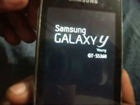 Galaxy Y (S5360) || Install Original Samsung Android On Galaxy Y