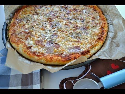 MASA DE PIZZA ESTILO PIZZA HUT (RECETA FÁCIL)