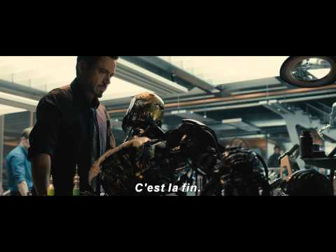 Avengers l'Ere d'Ultron : Bande-annonce teaser en VOST | Marvel Officiel HD