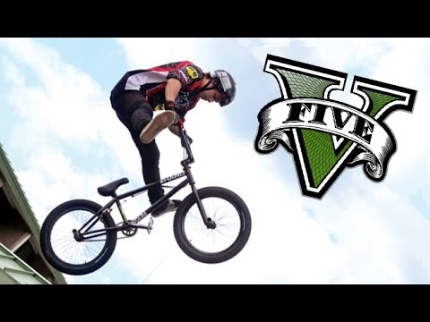 GTA 5 UNBELIEVABLE BMX STUNT MONTAGE!