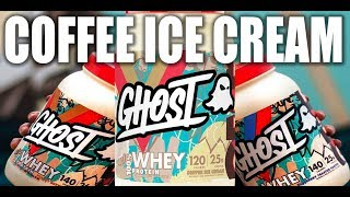 Coffee Ice Cream Flavored Protein | GHOST WHEY REVIEW