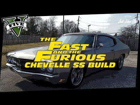 FAST & FURIOUS 4: CHEVROLET CHEVELLE SS CUSTOM BUILD TUTORIAL (GTA 5 SABRE TURBO)