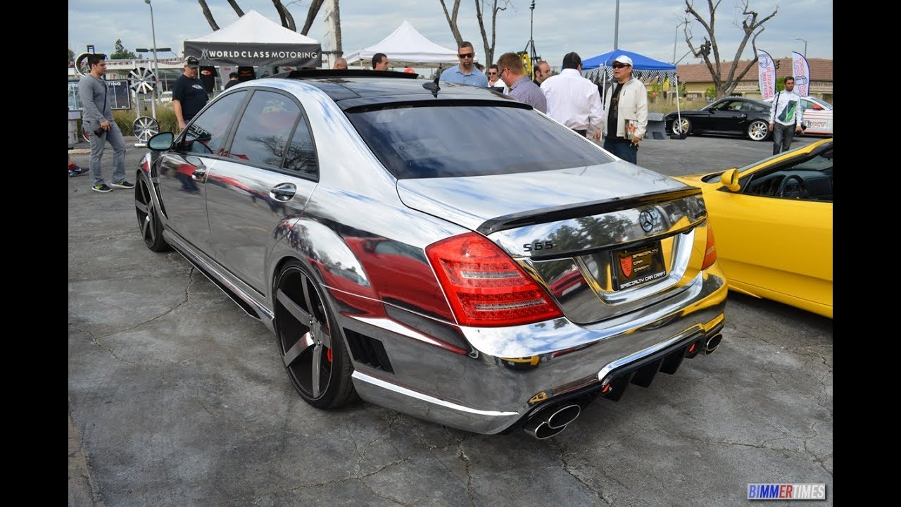 Lorinser Mercedes Benz S65 Chromed Out Body Wrap W221