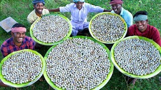 3000 QUAIL EGGS | Cooking Eggs in CLAY | Ancient Traditional Quail Egg Recipes Cooking In Village