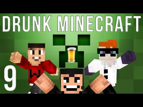 Drunk Minecraft #41 | TEKKIT TIME!