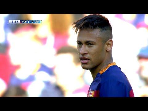 Neymar vs Getafe (Home) 15-16 HD 1080i - English Commentary