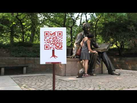 The World Park Campaign, a very creative QR mobile campaign