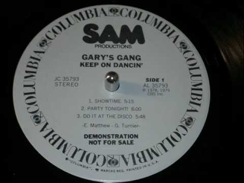 Gary's Gang, Showtime (Disco Vinyl 1978) Full Version HD!