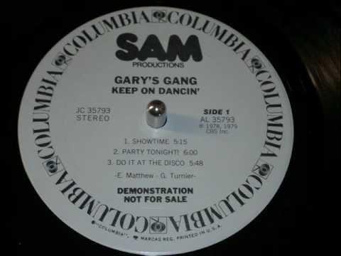 Gary's Gang, Showtime (Disco Vinyl 1978) Full Version HD!
