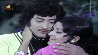 Dongalaku Donga Telugu Movie | Pagadala Deevilo Telugu Video Song | Krishna | Jayaprada