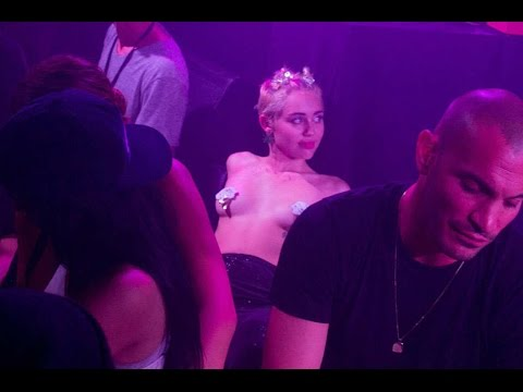 Miley Cyrus Topless At This Fashion Week Party!? (pictures) video