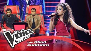 Romina Tissera - Pem Lowe  Blind Auditions | The Voice Sri Lanka