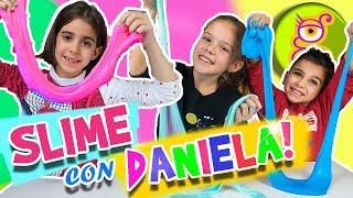 SLIME Challenge con Daniela de DIVERTIGUAY ¿QUIÉN hace el MEJOR SLIME?