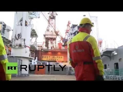Russia: US and Russian oil giants begin Artic exploration drill despite sanctions