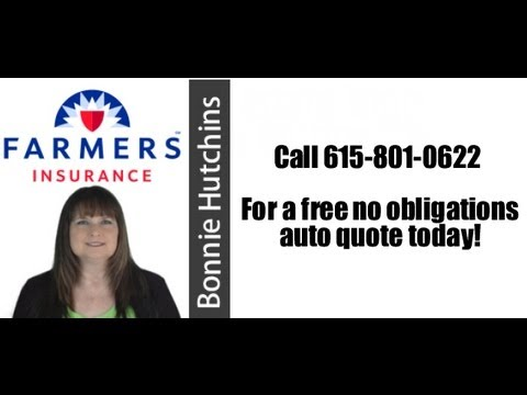 Tennessee Auto Insurance - 615-801-0622 - Farmers Insurance