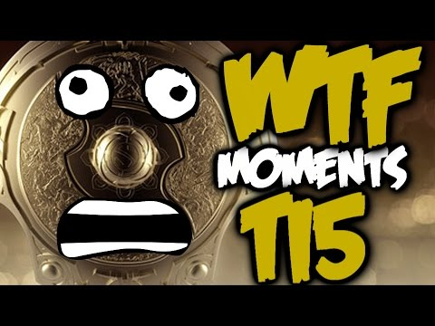 Dota 2 WTF Moments The International 5 Special Edition