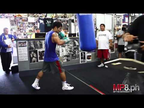 Manny Pacquiao - Extreme Heavy Bag Use Image 1