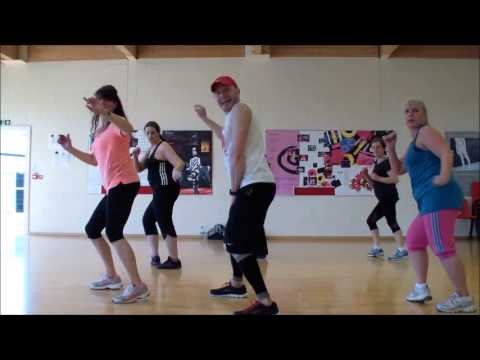 Happy Pharrell Williams Zumba video