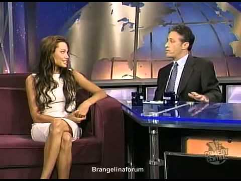 Angelina Jolie interview on The Daily Show