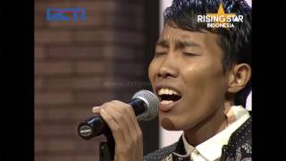 LUCU... Hendra Nanda ``I Will Never Let You Down``    Room Audition 1    Rising Star Indonesia 2016