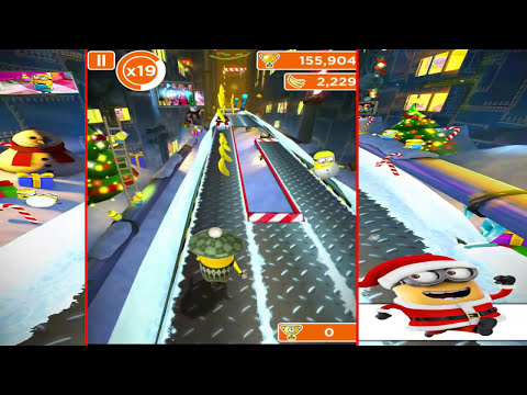 Despicable Me: Minion Rush - Holiday Lab - Gameplay HD