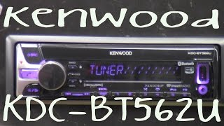 Kenwood KDC-BT562U - Out Of The Box