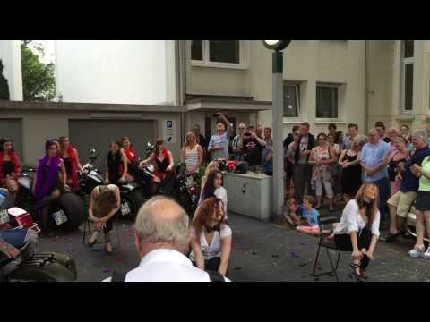 "Dirty Diana - Part 3 of the show during ""Sommerfest 2015"" at Lenné Snack Bonn"