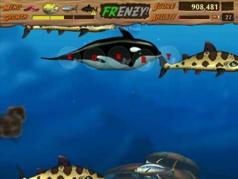 let's play feeding frenzy 2 17 levels 56 57 (no