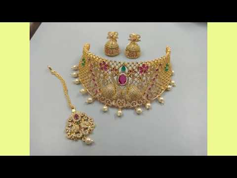 Latest necklace designs | Today Fashion jewels | simple and unique designs |