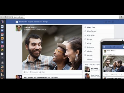 How to change old Facebook Design to the new Newsfeed Design 2013