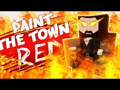 THE FIRE LORD OF THE FUTURE! (Best Workshop Creations - Paint The Town Red Gameplay)